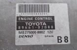 Toyota Corolla 1.6 VVTI Engine ECU 89661-02B80 MB275000-8802 2004-2006