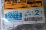 Toyota Hiace airbag ecu module 89170-26290 231000-4280 2006-2010