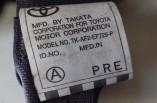 Toyota Hiace van seat belt passengers side front 2006 2007 2008 2009 2010