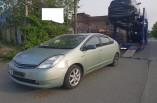 Toyota Prius door handle lever drivers front inner 2004-2009