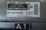 Toyota Yaris T Sport 1.5 engine ecu controller 89661-52180 212000-1760