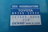 Toyota Yaris 1.3 VVTI ECU aggregation module 89300-52030 232600-0050 2006-2011