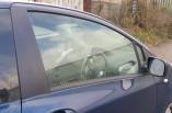 Toyota Yaris door window glass 3 door drivers front 2006-2011