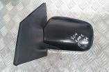 Toyota Yaris manual door wing mirror matt black passengers front 1999-2006
