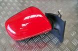 Toyota Yaris TR electric door mirror drivers front red 3P0 2009