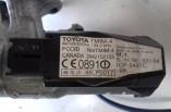 Toyota Yaris ignition barrel and key reader 1999-2005