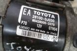 Toyota Yaris starter motor 28100-0J030 MS428000-3370 2006-2011
