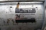 Toyota Yaris TR starter motor 1.0 litre vvti 28100-0Q050 2009