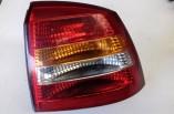 Vauxhall Astra G MK4 rear back brake light tail lamp lens drivers 1998-2004 13110930