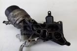 Vauxhall Corsa 1.3 CDTI oil cooler filter housing assembly 55238293 2007-2014