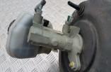 Vauxhall Corsa C brake servo booster and brake master cylinder 90576563