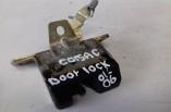 Vauxhall Corsa C boot catch latch lock 90534769 2001-2006