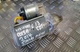Vauxhall Corsa CDTI starter motor 55221292 2006-2014
