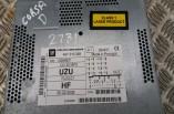 Vauxhall Corsa D CD Player stereo piano black 13289921 CD 30 MP3 2006-2014