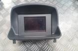 Vauxhall Corsa D dash display clock 13381204 2006-2014 Grundig