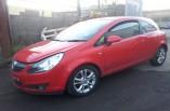Vauxhall Corsa D SXI breaking parts tinted rear quarter glass window left