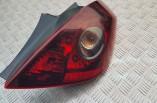 Vauxhall Corsa D SXI rear tail light lamp brake 93189400 2006-2014