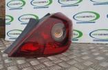 Vauxhall Corsa D SXI rear tail light brake lamp 3 door drivers rear