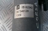 Vauxhall Corsa D front wiper motor 13182342
