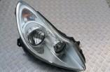 Vauxhall Corsa D headlight hedlamp drivers front 2006-2011 13186384