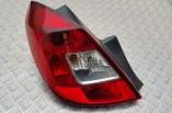 Vauxhall Corsa D rear tail light brake lamp passengers 5 door 2006-2014 13269050