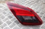 Vauxhall Corsa E SRI rear tail light on boot tailgate passengers rear