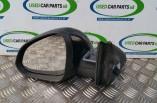 Vauxhall Insignia electric door wing mirror passengers front black Z22C