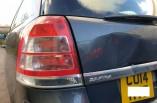 Vauxhall Zafira Exclusiv rear tail light passengers 2008-2014