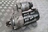 VW Golf GT TDI DSG starter motor 2004-2009 02E911023H
