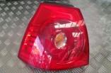 Volkswagen Golf MK5 passengers rear tail light brake lamp on body SE