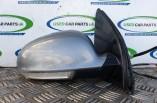 Volkswagen Golf MK5 Sport A7T grey door wing mirror drivers front with indicator