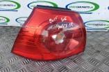 Volkswagen Golf MK5 Sport TSI passengers rear tail brake light lamp