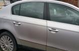 Volkswagen Passat door silver drivers rear saloon 2005-2010 LA7W