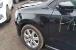 Volkswagen Polo MK5 wing passengers front left black LC9X